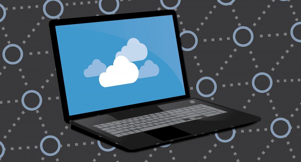 Vom Computer kann auf die Dateien in der Cloud zugegriffen werden